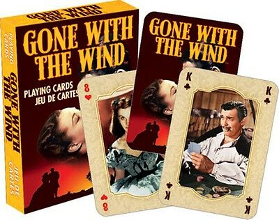 Gone With The Wind set of 52 playing cards + jokers (nm)