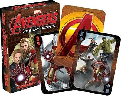 Avengers Age Of Ultron set of 52 playing cards (nm 52336)