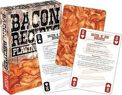 Bacon Recipes set of 52 playing cards (nm)