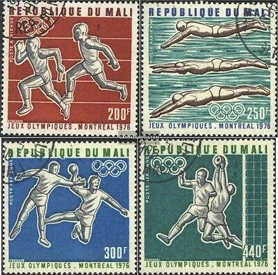 Mali 535-538 gestempelt 1976 Sommerolympiade Montreal