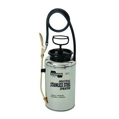 Chapin 1739 2-Gallon Industrial Stainless Steel Sprayer For Fertilizer,