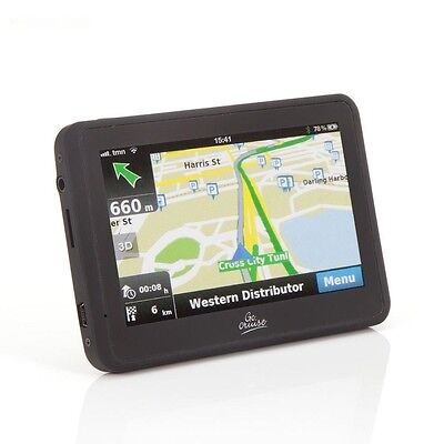 "Go Cruise 4.3"" GPS IN-CAR NAVIGATION with SPEED CAMERA ALERT- TOUCH SCREEN"