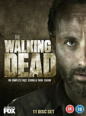 The Walking Dead: The Complete First, Second & Third Season DVD (2013) Andrew