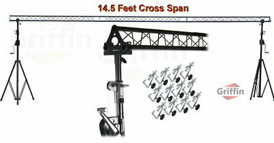 Crank Up Truss Triangle DJ Light Stage Stand Lighting Trussing Speaker PA System