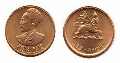 ETHIOPIA  1969 EE  ONE CENT  UNCIRCULATED COIN KM43.1