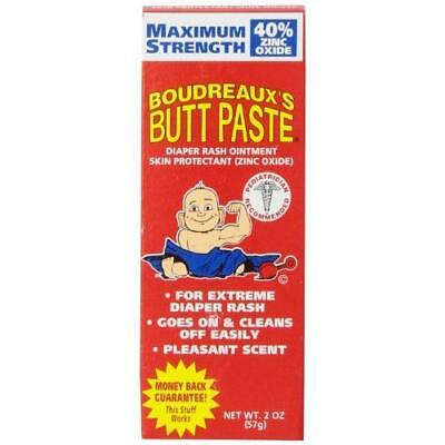 Boudreaux's Butt Paste Diaper Rash Ointment - Maximum Strength - Contains 40%