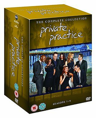 Private Practice The Complete Seasons Series 1, 2, 3, 4, 5 & 6 DVD Box Set R4