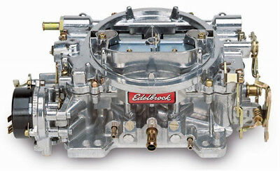Edelbrock 1411 Performer Series Satin Finish 750 CFM Electric Choke Carburettor
