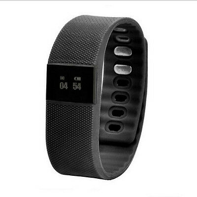 Black Bluetooth Smart Watch Smartband Pedometer Calorie Counter Activity Tracker