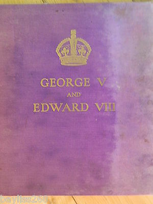 George V and Edward VIII Pictorial Book Daily Express  1936