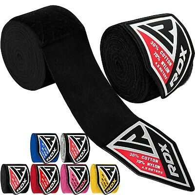 RDX 4.5 m Hand Wraps Inner MMA Boxing Gloves Bandages Training Muay Thai Stretch