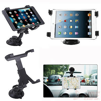 Car Windshield Desk Suction Holder Rotating Mount Stand for iPad-1 2 3 4 Tablet