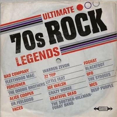 Various Artists - Ultimate '70S Rock Legends New Cd