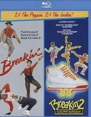 Breakin'/breakin' 2: Electric Boogaloo New Blu-Ray