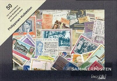 50 Briefmarken Philippinen Kollektion