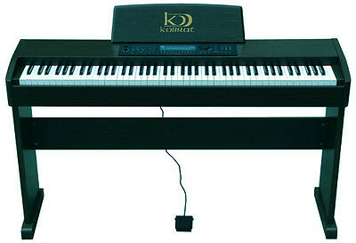 PIANO DIGITAL KOBRAT 85 NUEVO HAMMER CONTRAPESADO  piano digital electronico