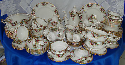 Royal Albert CELEBRATION ROSE Dinner Service Individually Sold Immaculate Unused