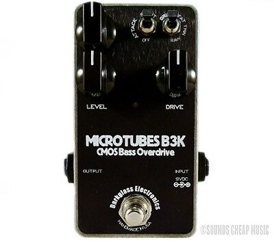 New! Darkglass Electronics Microtubes B3K Bass Distortion - Free Us 48 Shipping!