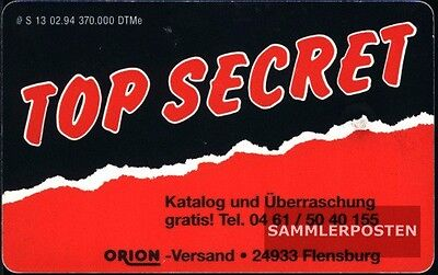 BRD S181 S 13/94 gebraucht 1994 Top Secret
