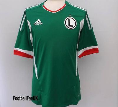 LEGIA VARSAVIA Adidas Player Issue Away Shirt 2011/13 NUOVO M,L,XL Jersey