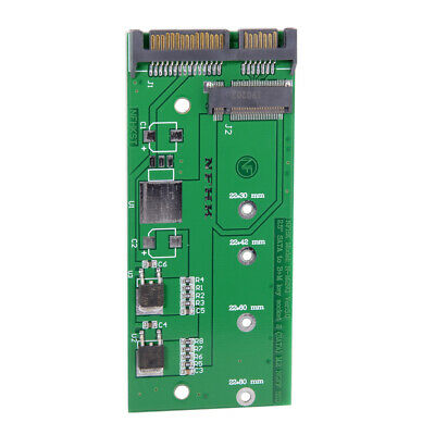 "M.2 NGFF PCI-E 2 Lane SSD to 7mm 2.5"" SATA 22pin hard disk case PCBA for Y510P"
