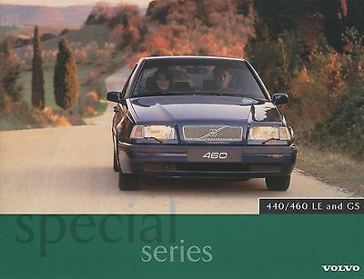 Volvo 440/460 LE and GS Brochure - 1996 - Near Mint