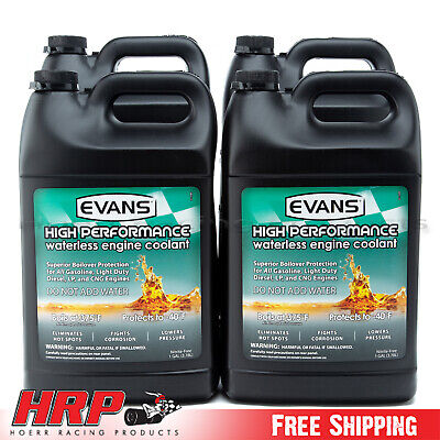 Evans Waterless Coolant-High Performance (4 Gallons w/ Funnel)-EC53001