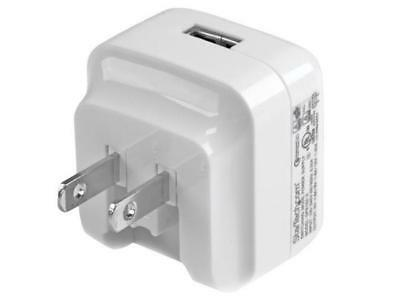 StarTech USB1PACVWH Travel USB Wall Charger - White - Quick Charge 2.0 - Travel