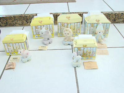 Precious Moments - Birthday Circus Train Series - Lot of 5 w/ boxes