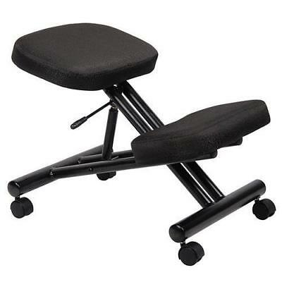Boss Office Products B248 Ergonomic Kneeling Stool in Black New