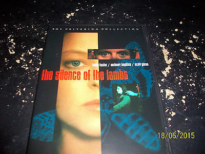The Criterion Collection: Silence Of The Lambs!! Used & In Excellent Condition!!