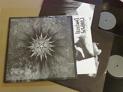 Corpus Christii Rising 2007 Obscure Abhorrence 2Lp Original Inner Sleeve Poster