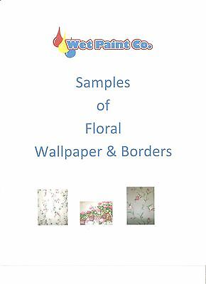 Sample of Floral Wallpaper or Border in Wet Paint Company Store Page 2