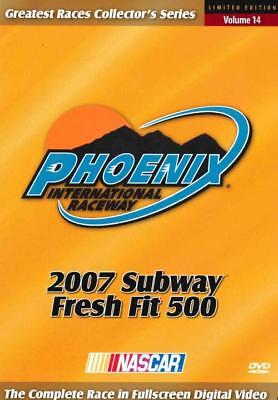 Nascar: Phoenix International Speedway - 2007 Subway Fresh Fit 500 New Dvd