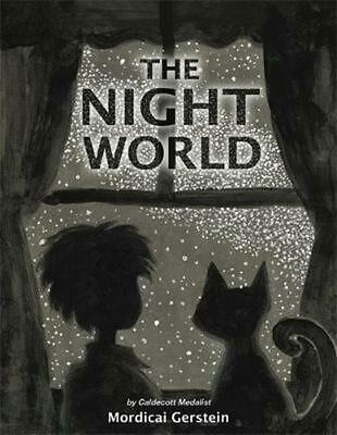 The Night World by Mordicai Gerstein (English) Hardcover Book Free Shipping!