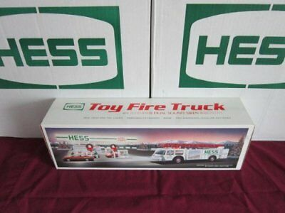 Hess Fire Truck with Dual Sound Siren - 1989 New