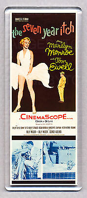 THE SEVEN YEAR ITCH movie poster LARGE FRIDGE MAGNET - MARILYN MONROE