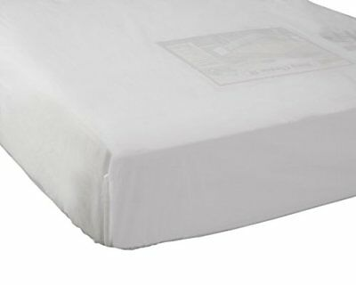 Abstract Fitted Plastic Mattress Cover for Portable Crib (24x38) New