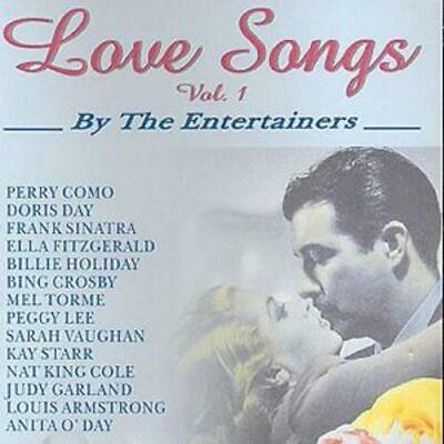Various Artists : Love Songs: By the Entertainers - Volume 1 CD (2001)