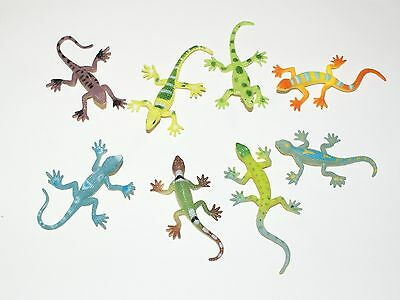 8 Pack Mini Lizards Lizard Birthday Party Loot Bag Fillers Favours Toys