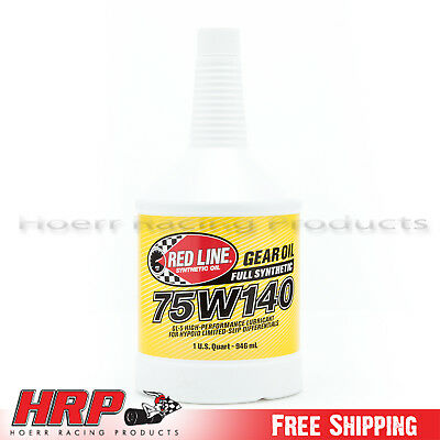 Red Line 75W140 GL-5 Gear Oil  (1 Quart) RED-57914