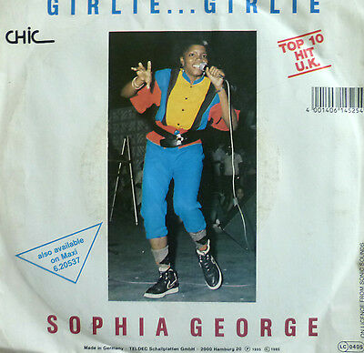 "7"" 1985 KULT IN VG++ ! SOPHIA GEORGE : Girlie Girlie"
