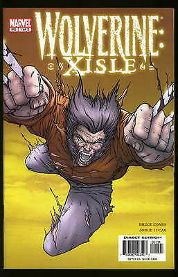 Wolverine Xisle #1-5 Near Mint Complete Set 2003