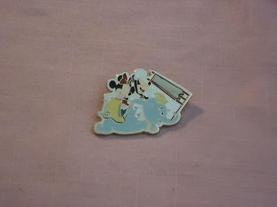 MICKEY & MINNIE DUMBO Attraction RIDE PIECE Of HISTORY BEIGE BANNER LE PIN 38664