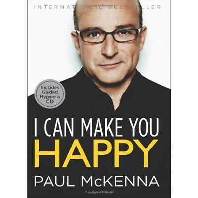 I Can Make You Happy By Paul McKenna Hardcover NEW
