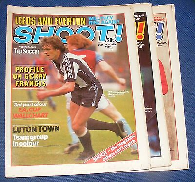 Shoot!  Magazine Various Issues 1980