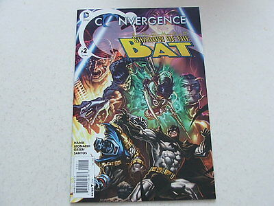 Convergence Batman Shadow Of The Bat 2 (DC Comics) Jul 2015 DEATHSTROKE