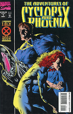 The Adventures Of Cyclops And Phoenix & Further Adventures # 1-4 Series Sets