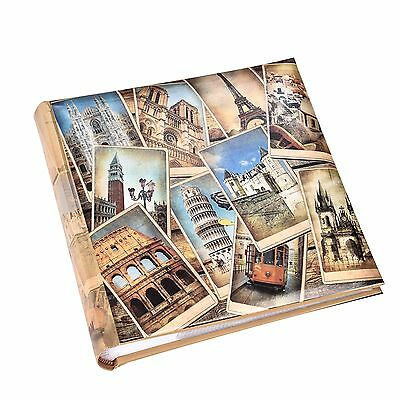 "Memories 200 Holds Slip In Photo Album ( 4'' x 6"") With Memo Area - FB200"