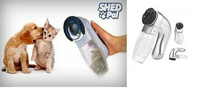 Shed Pal As Seen On TV Go Pet Vac Hair Remover Dog Cat Grooming Vacuum Clean Fur